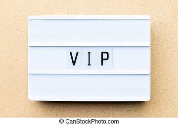 madera, palabra, lightbox, muy, (abbreviation, person), vip,...