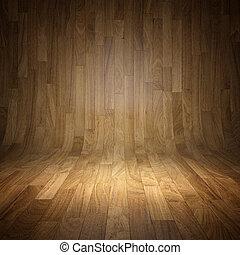 madera, plano de fondo, parqué