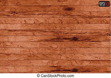madera, plano de fondo, tablón, vector