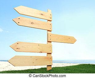 madera, signboard