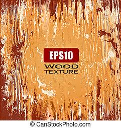 madera, vector, plano de fondo