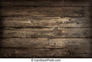madera, viejo, texture.