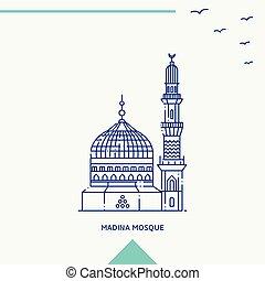 93  Gambar Masjid Simple Kekinian