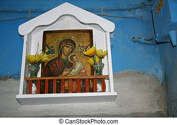 Madonna and Child in the island of