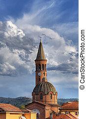 madonna, church., italy., alba, moretta