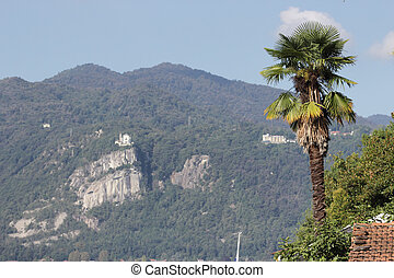 Madonna del Sasso , Orta Lake, Italy