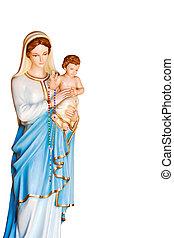 madonna - statue of the Madonna and Jesus