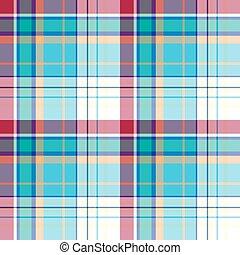 Madras pattern - Seamless madras plaid pattern