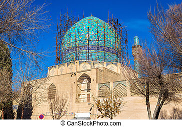 madrasa, királyi, bagh, főiskola, chahar, isfahan, teológiai