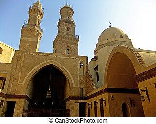 Madrasah Mausoleum and Mosque, Qalawun Complex, Cairo, Egypt