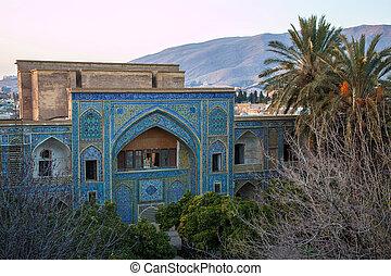 Madraseh-ye Khan in Shiraz, Iran.