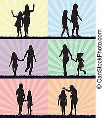 Hija Relación Familia Madre 10 Hija Familia Eps