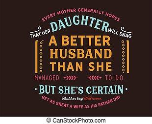 madre, esperanzas, cada, generalmente