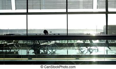 madrid, aéroport