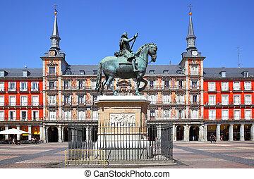 madrid, alcalde de la plaza