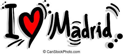 madrid, amore