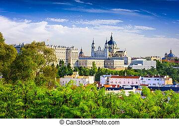 madrid, catedral