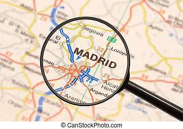 madrid, destino