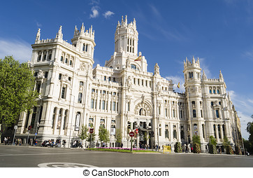 madrid, famoso, palacio
