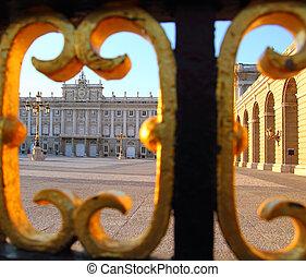 Madrid Palacio de Oriente monument Spain architecture