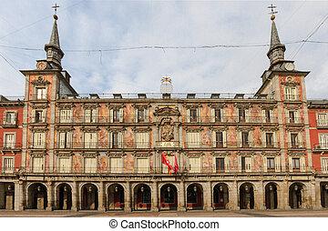 Madrid, Plaza Mayor, Casa de la Panaderia, Spain