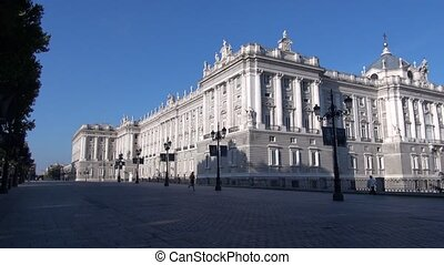 Madrid Royal Palace side 30 - royal palace public monument...