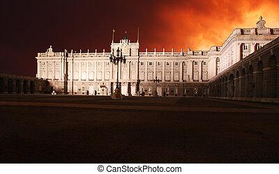 Madrid, Royal Palace - Spain