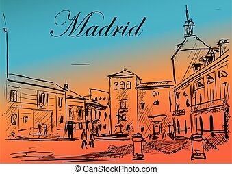 madrid, rue