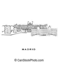Madrid Spain famous architecture