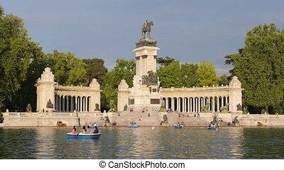 Madrid, Spain, parque buen retiro - Europe, capital cities,...