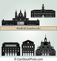 Madrid V2 Landmarks - Madrid V2 landmarks and monuments...