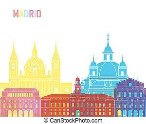Madrid V2 skyline pop