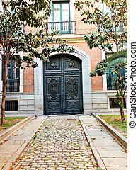 madrid, viejo, puerta