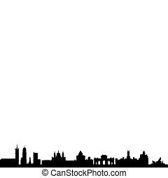 Madrid_Skyline