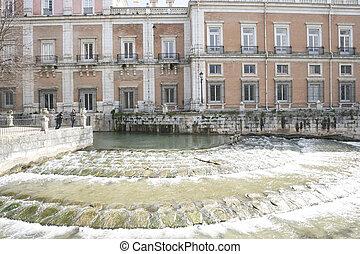 madryt, pałac, aranjuez, królewski, ogrody, hiszpania