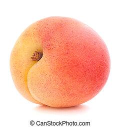 maduro, fruta, albaricoque