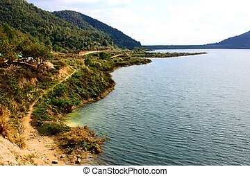 Mae Kuang Udom Thara dam,chaingmai Thailand