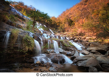 Mae Ya waterfall in Chiang Mai