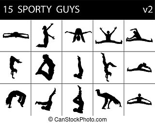 sportliche illustrationen und clipart 26226 sportliche