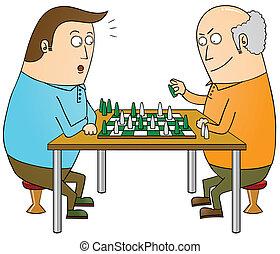 maestro, ajedrez