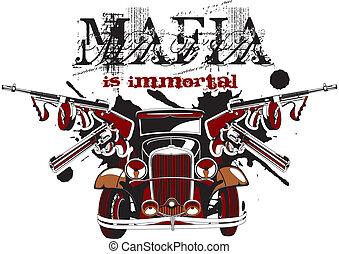 mafia, è, immortale