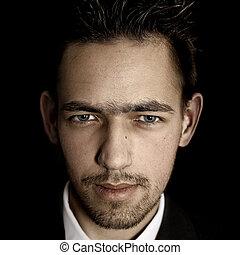Mafia lawyer - Chicago style male portrait