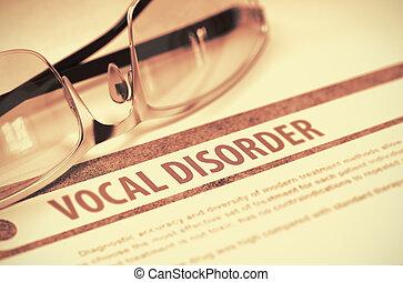 magánhangzói, disorder., medicine., 3, illustration.