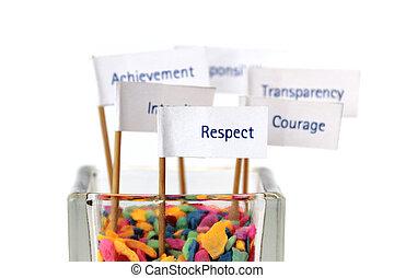 mag, ügy, siker, becsül, stratégia, kulcs, factor, misszió, ...