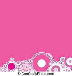 mag center roundabout - A magenta background based on...