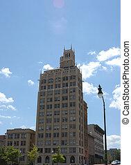magas épület
