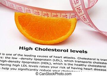 magas cholesterol, egyszintű