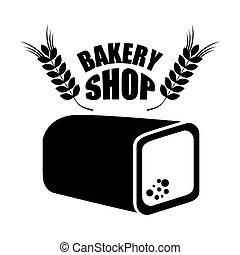 magasin, boulangerie