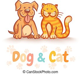 magasin, chien, animaux familiers, chat