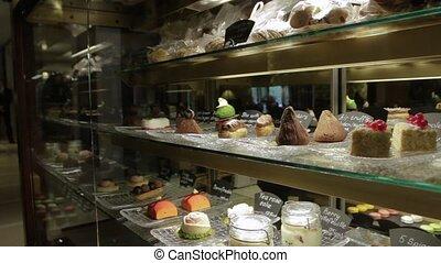 magasin, doux, gâteaux, patisserie